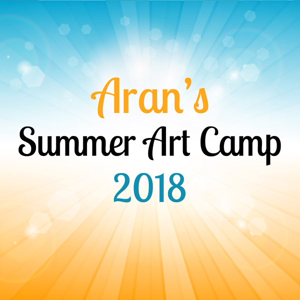 Summer Art Camp Session 7 | Pottery, Canvas Painting, & Glass Fusing |  Aran's Art Studio | Castro Valley, Bay Area, CA