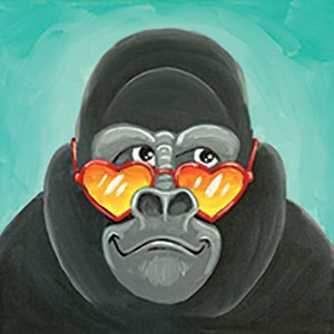 Kid S Night Out Grinning Gorilla Pottery Canvas Painting Glass Fusing Aran S Art Studio Castro Valley Bay Area Ca
